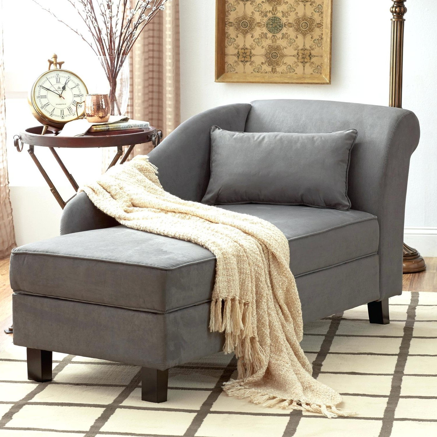 Picture 21 Of 39 – Indoor Wicker Chairs Elegant Chaise Cheap Within Most Current Elegant Chaise Lounge Chairs (View 14 of 15)