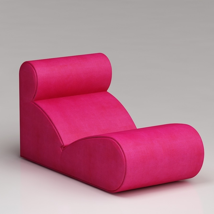 Pink Chaise Lounge Chairs • Lounge Chairs Ideas Inside Latest Hot Pink Chaise Lounge Chairs (View 6 of 15)