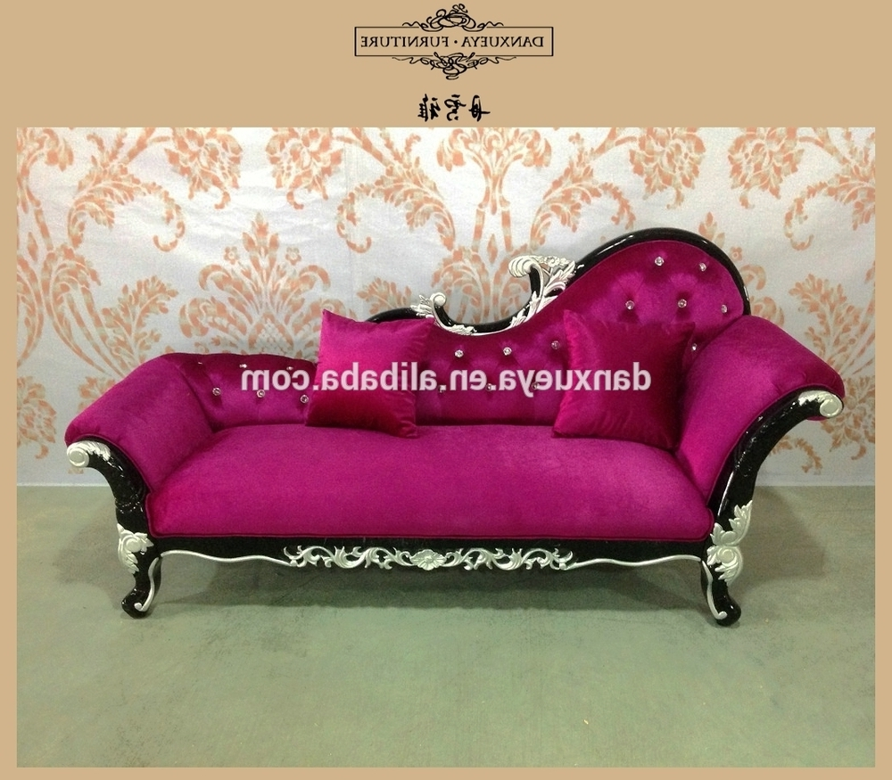Pink Chaise Lounges In Most Recently Released Chaise Lounge,chaise Loung Sofa Bed,pink Velvet Chaise Lounge (View 3 of 15)