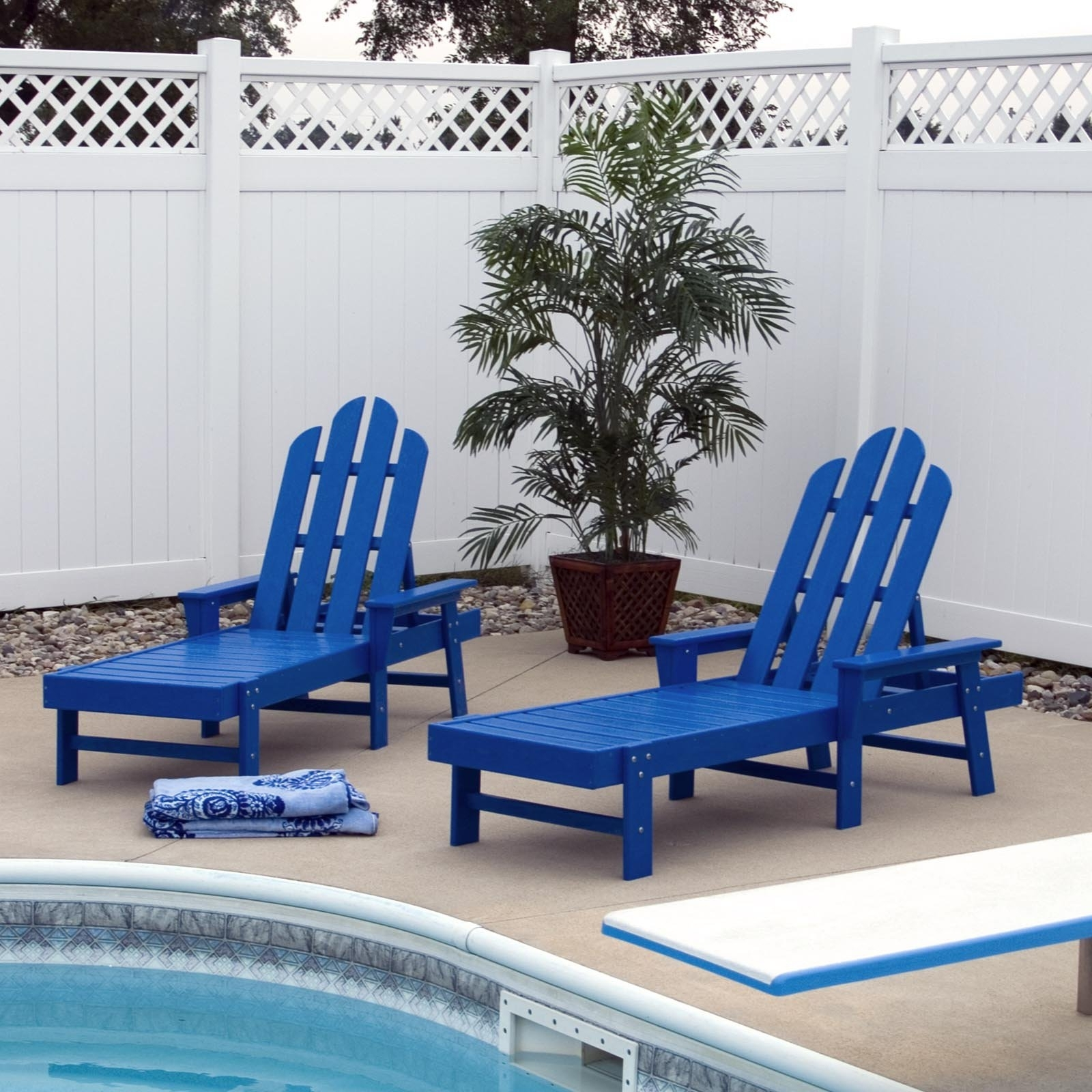 Plastic Chaise Lounge Chairs For Most Recently Released Polywood® Long Island Recycled Plastic Chaise Lounge (View 9 of 15)