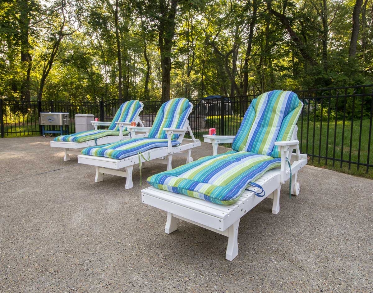Polywood Chaise Lounges In Famous Poly Lumber Comfo Back Chaise Lounge (View 7 of 15)