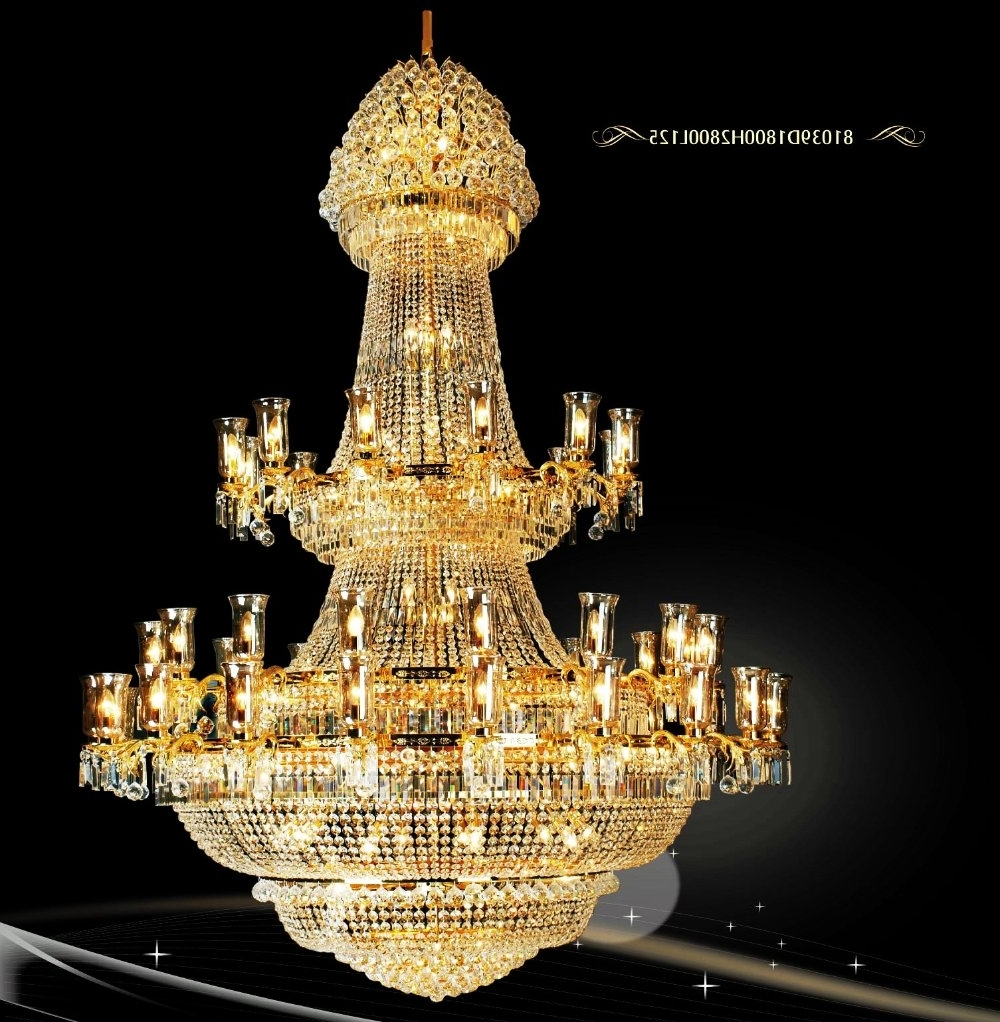 Popular Big Chandeliers Pertaining To Free Shipping!!!)Beautiful Modern Fashion Big Chandelier Best Design (View 10 of 15)