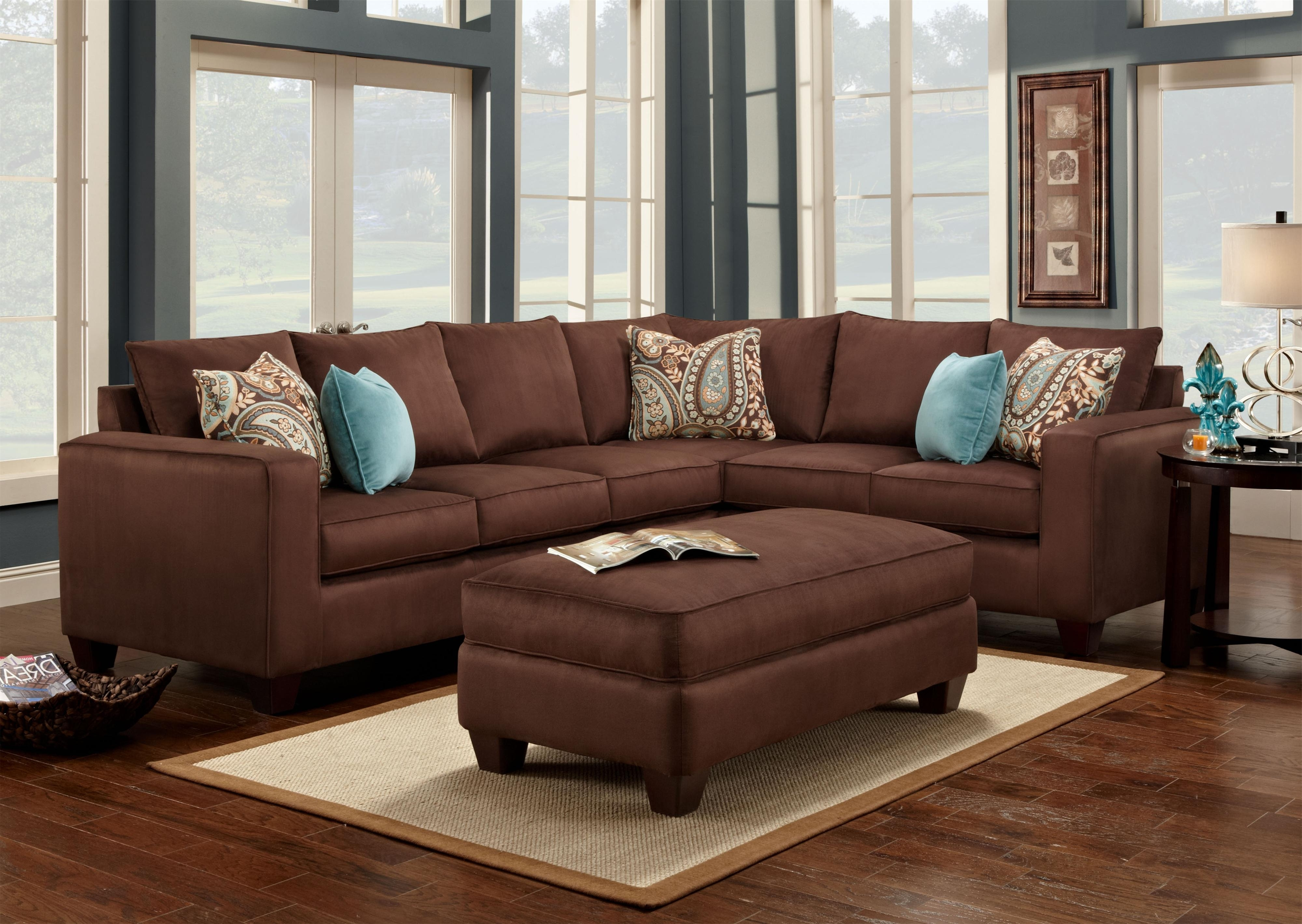 Popular Brown Sofa Chairs Within Pictures Of Living Rooms With Brown Sofas Dark Brown Leather Sofa (View 3 of 15)