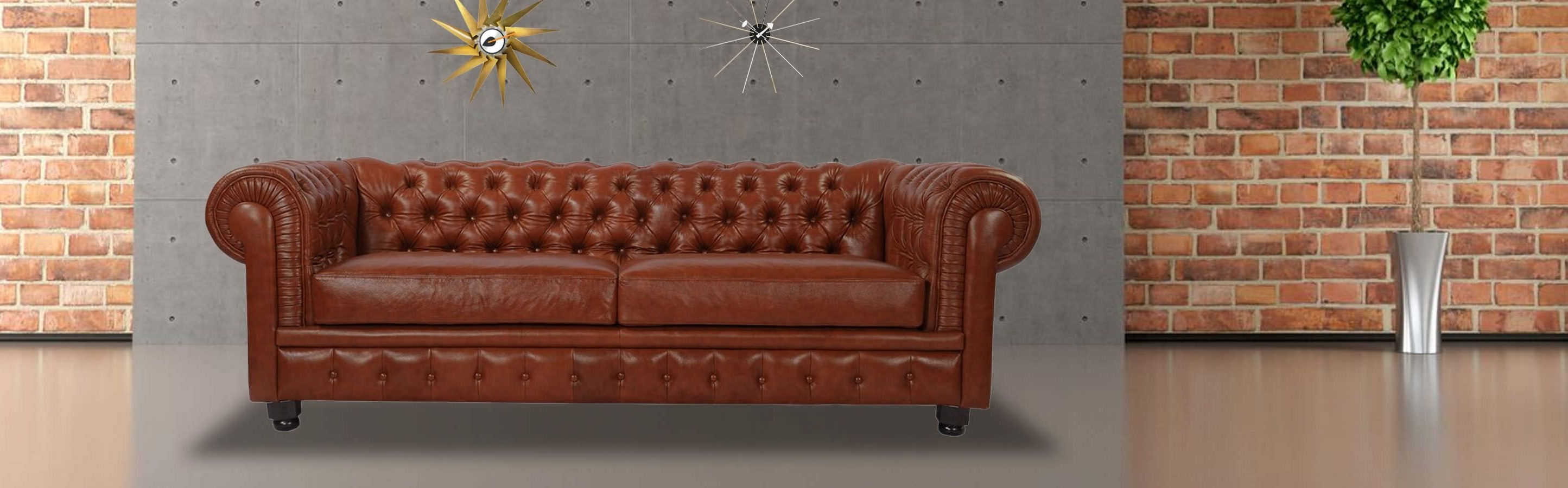 Popular Chesterfield Sofas And Chairs Intended For Chesterfield Sofa, Chevron Grey Twill – Kardiel (View 12 of 15)