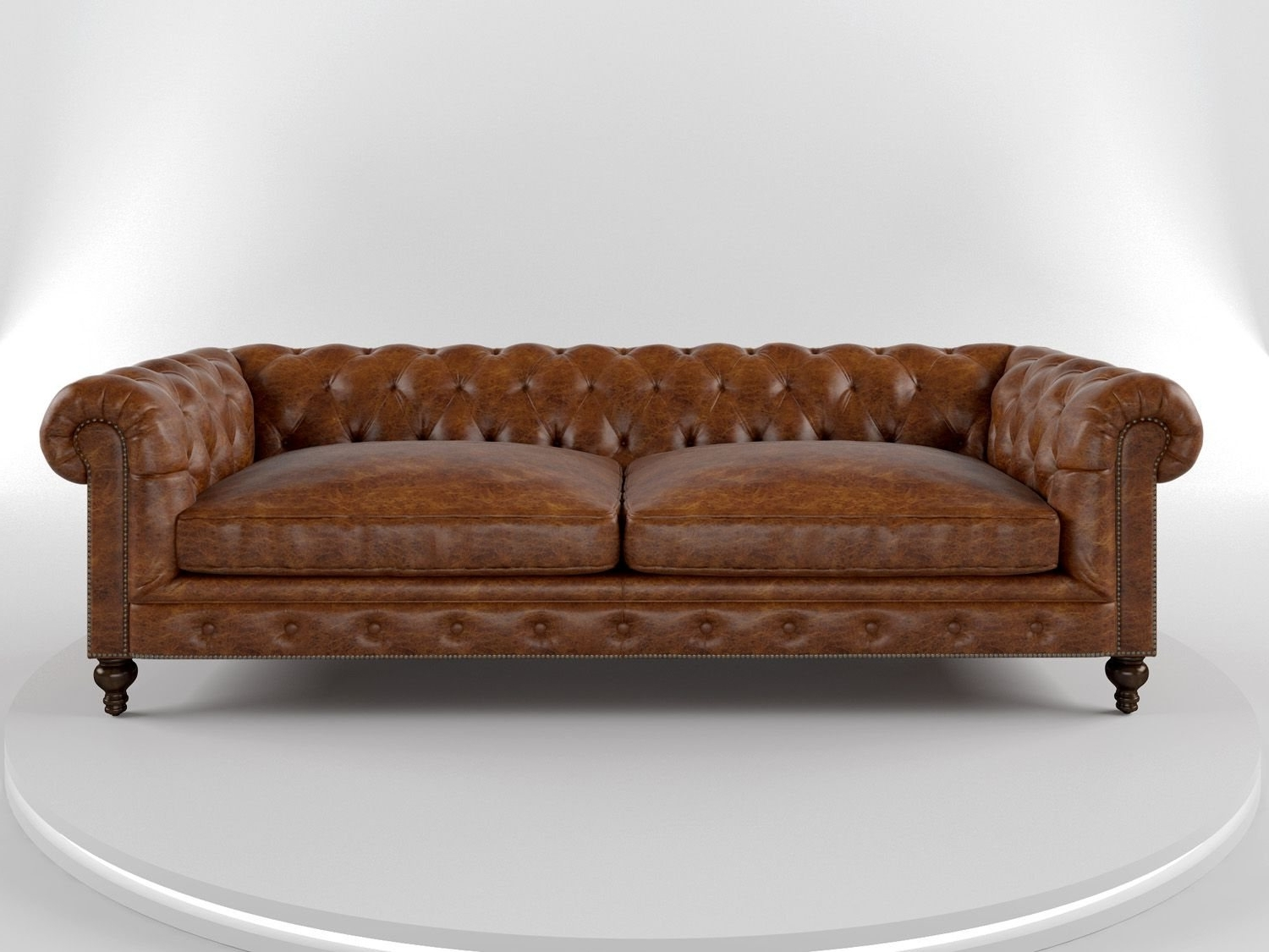Popular Cococo Custom Chesterfield Leather Tufted Sofas – Made In Usa In Leather Chesterfield Sofas (View 14 of 15)
