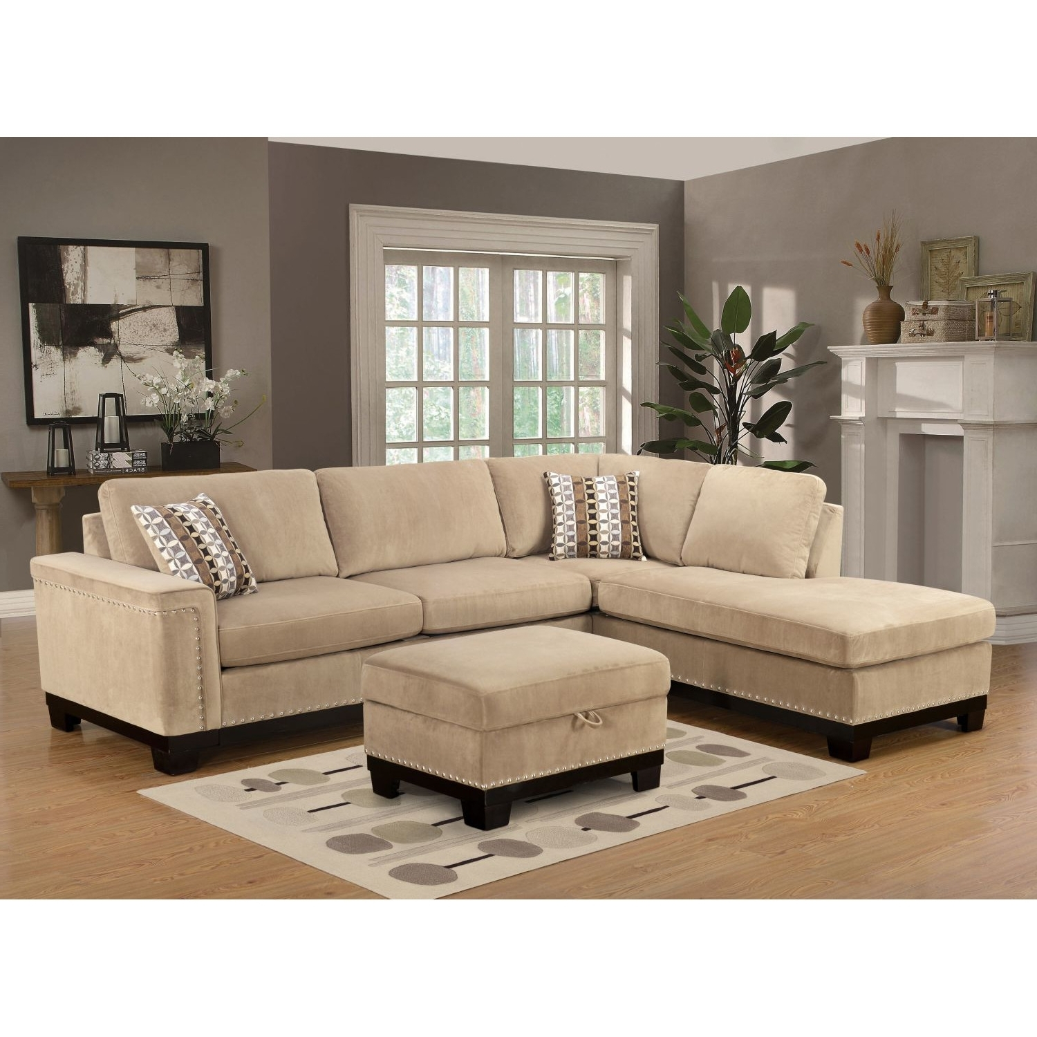 Popular Comfy Sectional Sofas With Regard To Couch (View 11 of 15)