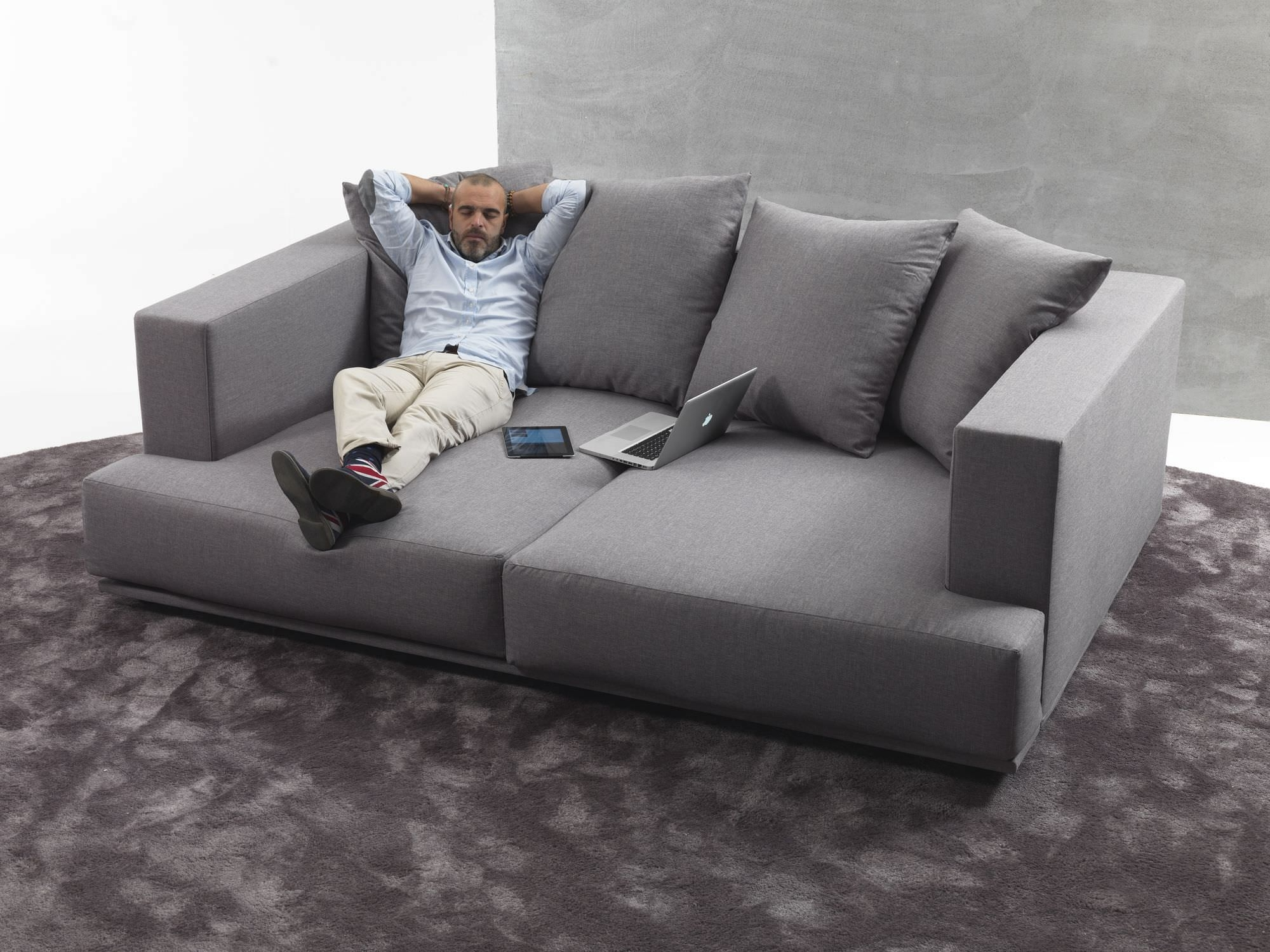 Popular Contemporary Sofa / Fabric / 2 Seater / With Washable Removable With Regard To Washable Sofas (View 2 of 15)