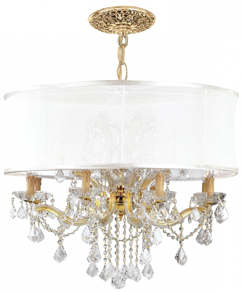 Popular Crystal Gold Chandeliers In Chandelier ~ Chandeliers Design : Amazing Antique Gold Crystal (View 14 of 15)