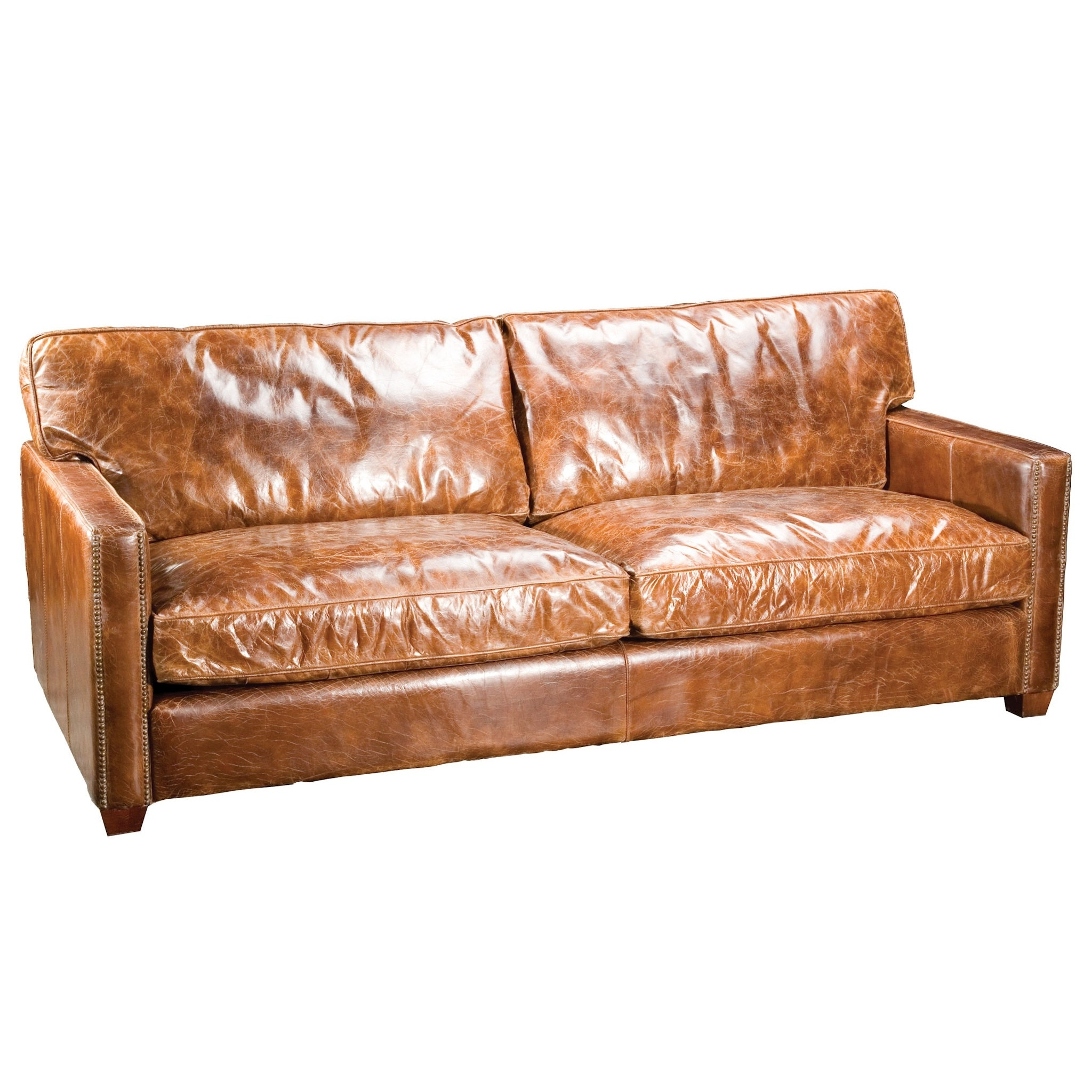 Popular Full Grain Leather Sofas For Espresso Leather Top Grain Amusing Full Grain Leather Sofa – Home (View 7 of 15)