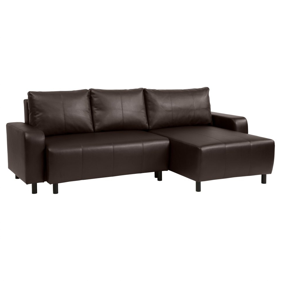 Popular Furniture : Leather Sectional Couch Chaise Sofa Bed Sectional Intended For Small Chaise Sofas (View 6 of 15)