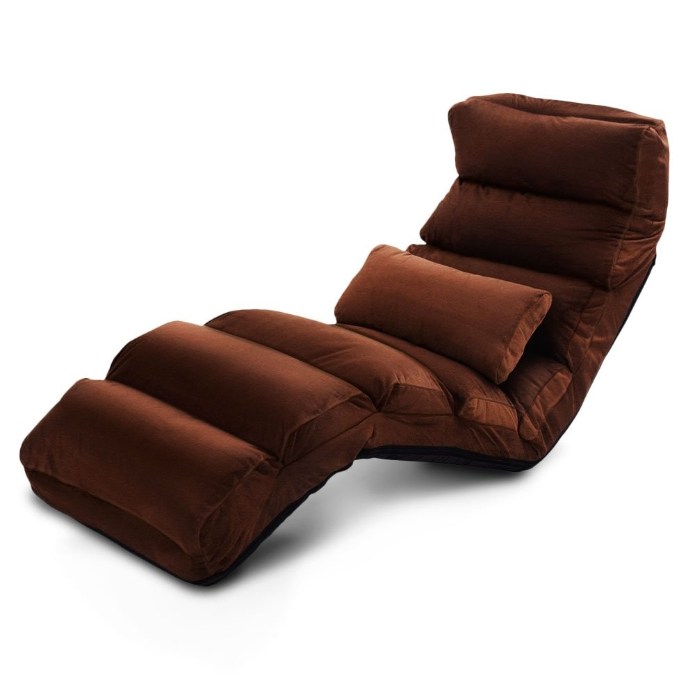 Popular Indoor Chaise Lounge Convertible Lazy Sofa Chair Recliner Folding With Recliner Chaise Lounges (View 12 of 15)