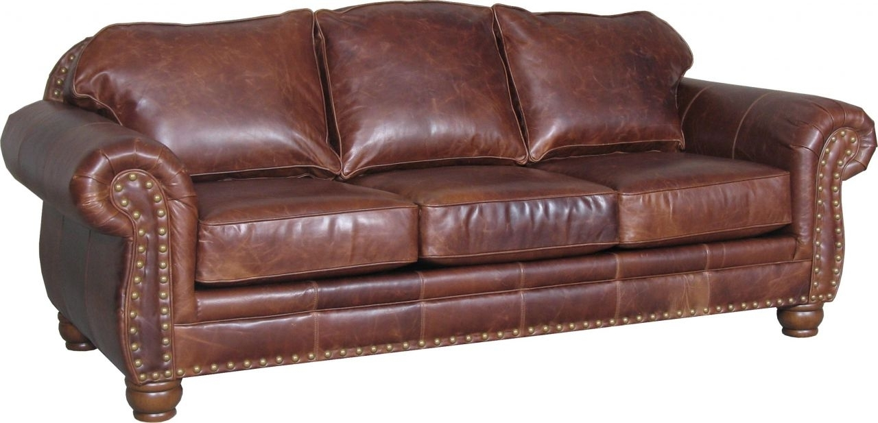 Popular Ivan Smith Sectional Sofas Within Decor: Mesmerizing Brown Leather Sectional Sofa For Living Room (View 12 of 15)