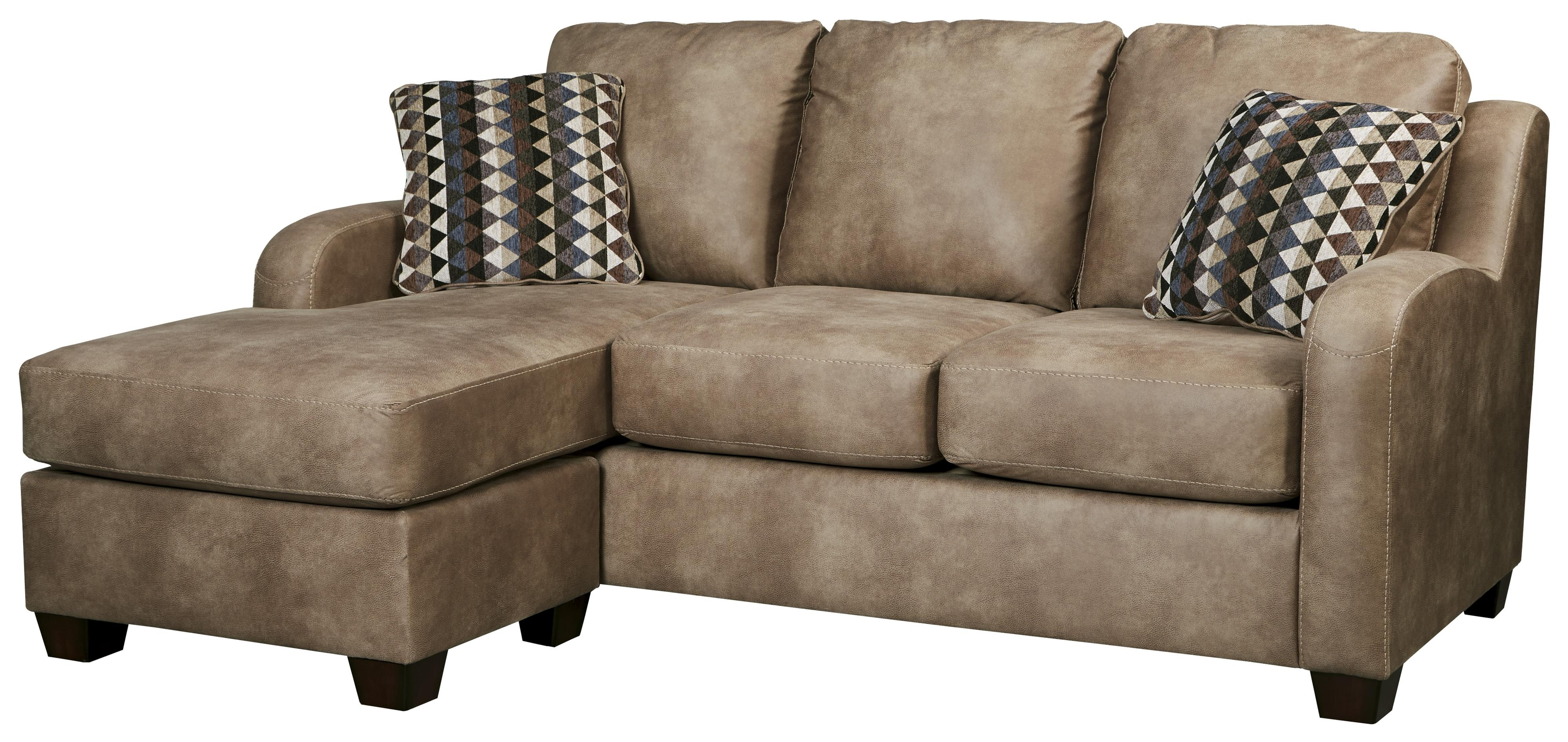 Popular Leather Sofas With Chaise Throughout Contemporary Faux Leather Sofa Chaisebenchcraft (View 14 of 15)