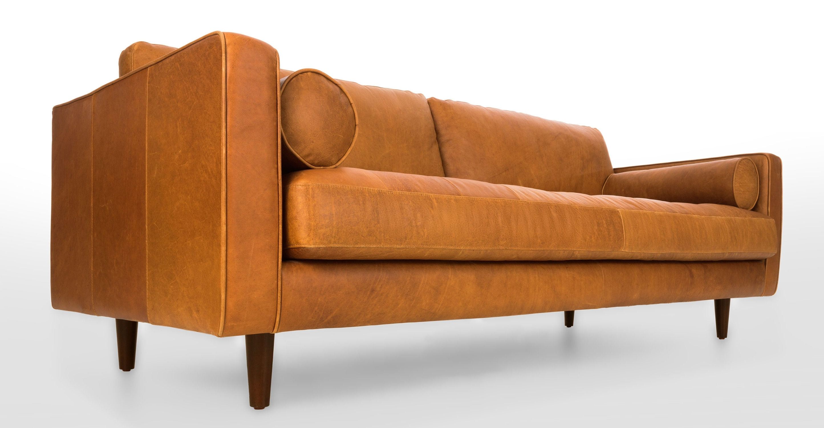 Popular Light Tan Leather Sofas In Tan Leather Sofa (View 11 of 15)
