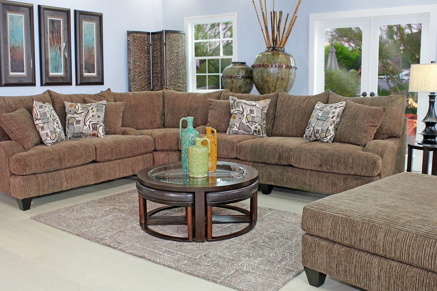 Popular Living Room Sofa And Chair Sets Inside Furniture (View 14 of 15)