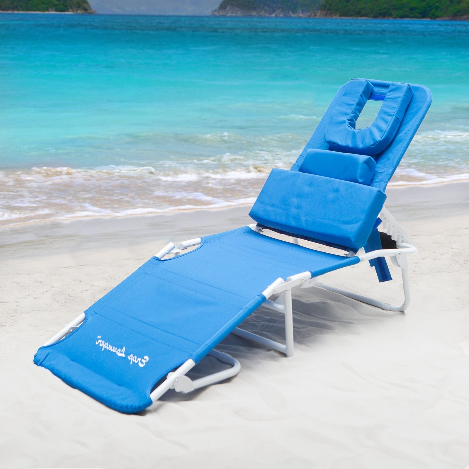 Popular Modern Beach Chaise Lounge Chairs Best House Design : Design Beach Pertaining To Chaise Lounge Beach Chairs (View 12 of 15)