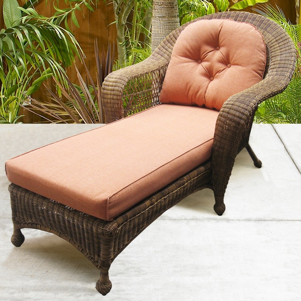 Popular Outdoor : Chaise Sofas For Sale Chaise Lounge Couch Chaise Lounge Throughout Wicker Chaise Lounges (View 6 of 15)