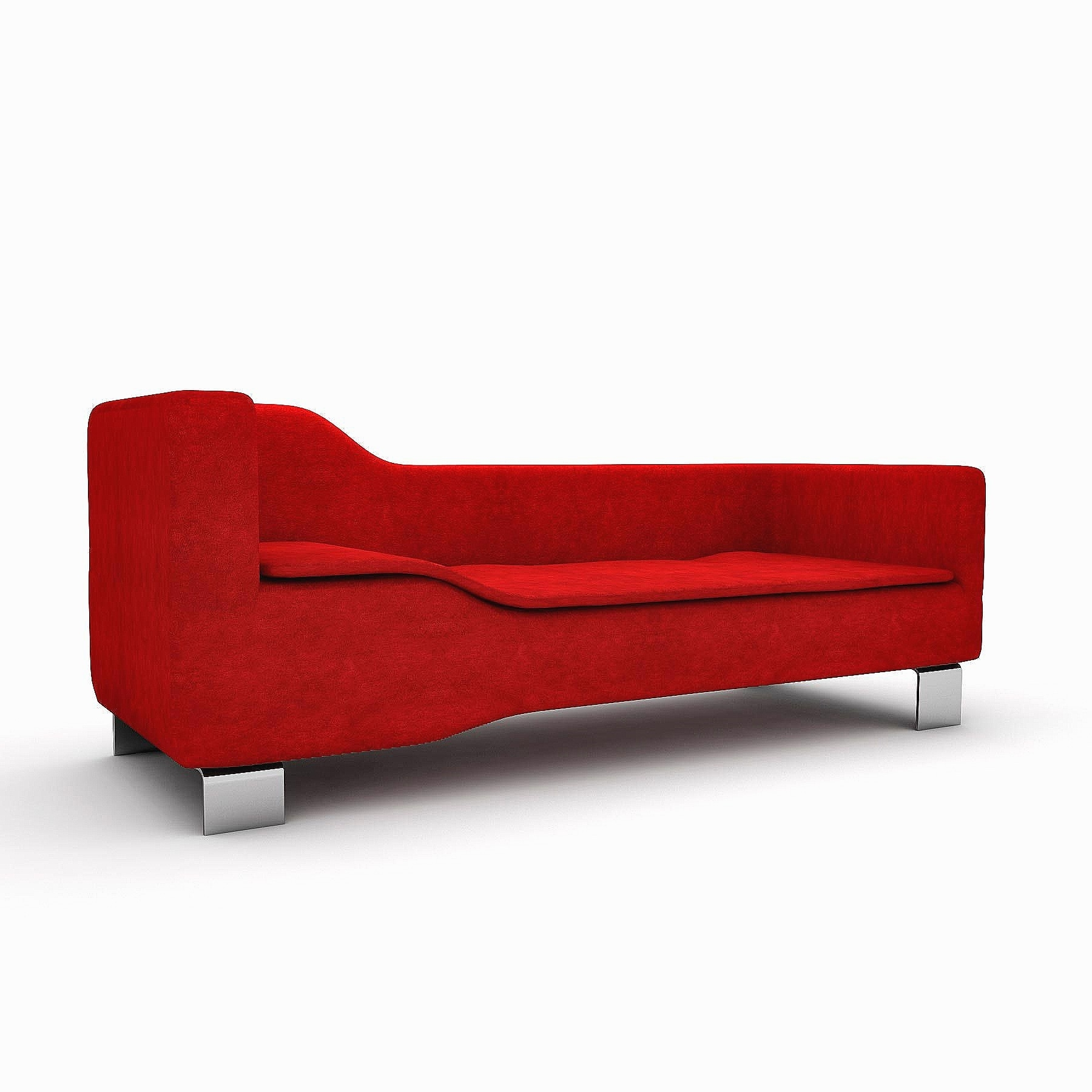 Popular Picture 5 Of 34 – Leather Chaise Lounge Chair Beautiful 9 Modern Pertaining To Red Leather Chaises (View 10 of 15)
