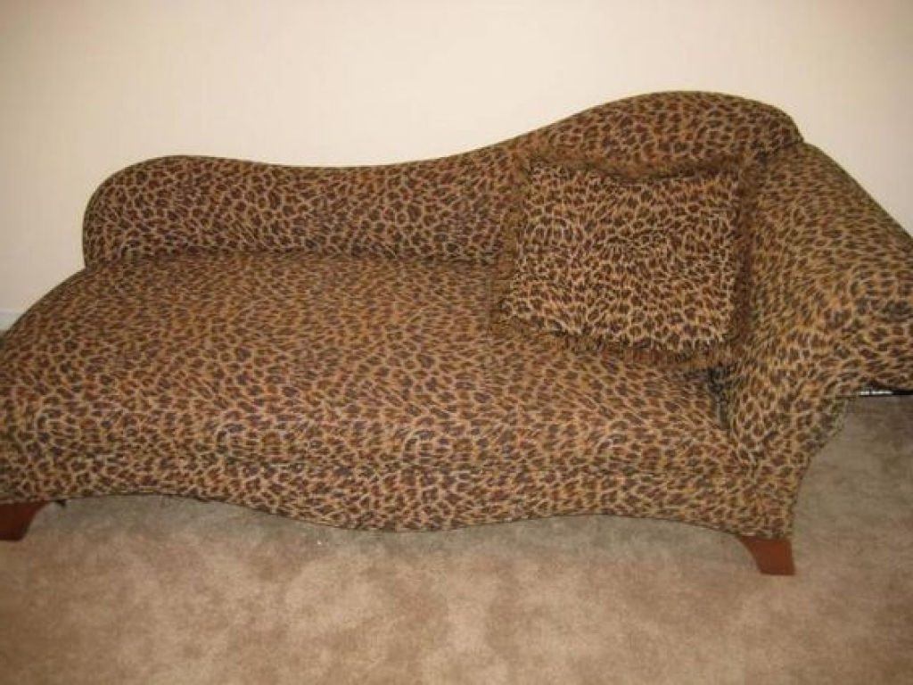 Popular Popular Of Leopard Chaise Lounge With Leopard Chaise Lounge Chaise Throughout Leopard Chaises (View 10 of 15)