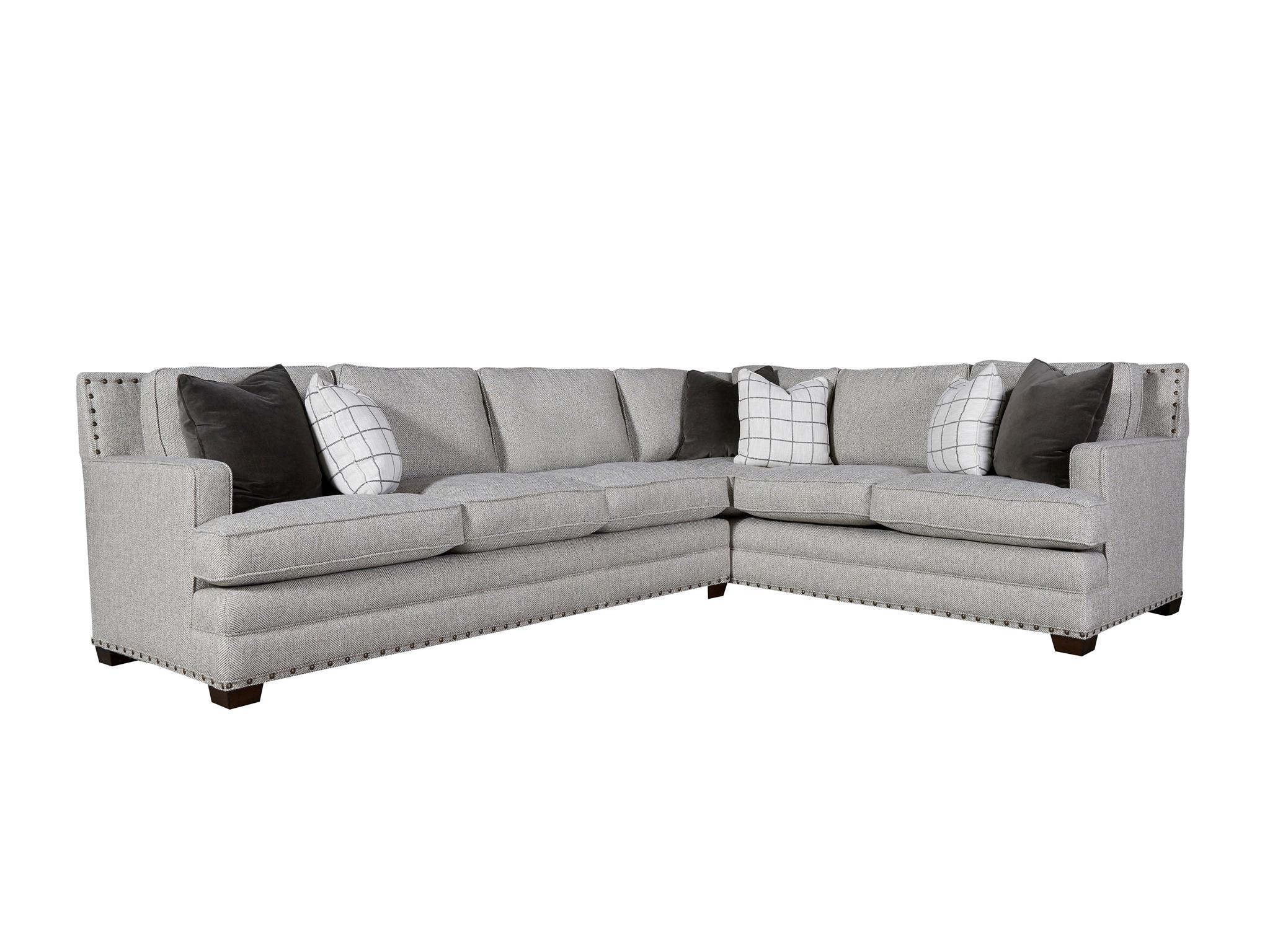 Popular Regina Sectional Sofas Throughout Sofa Right Sectional Braxton Java Arm Facing Hand Pb Basic Chaise (View 7 of 15)