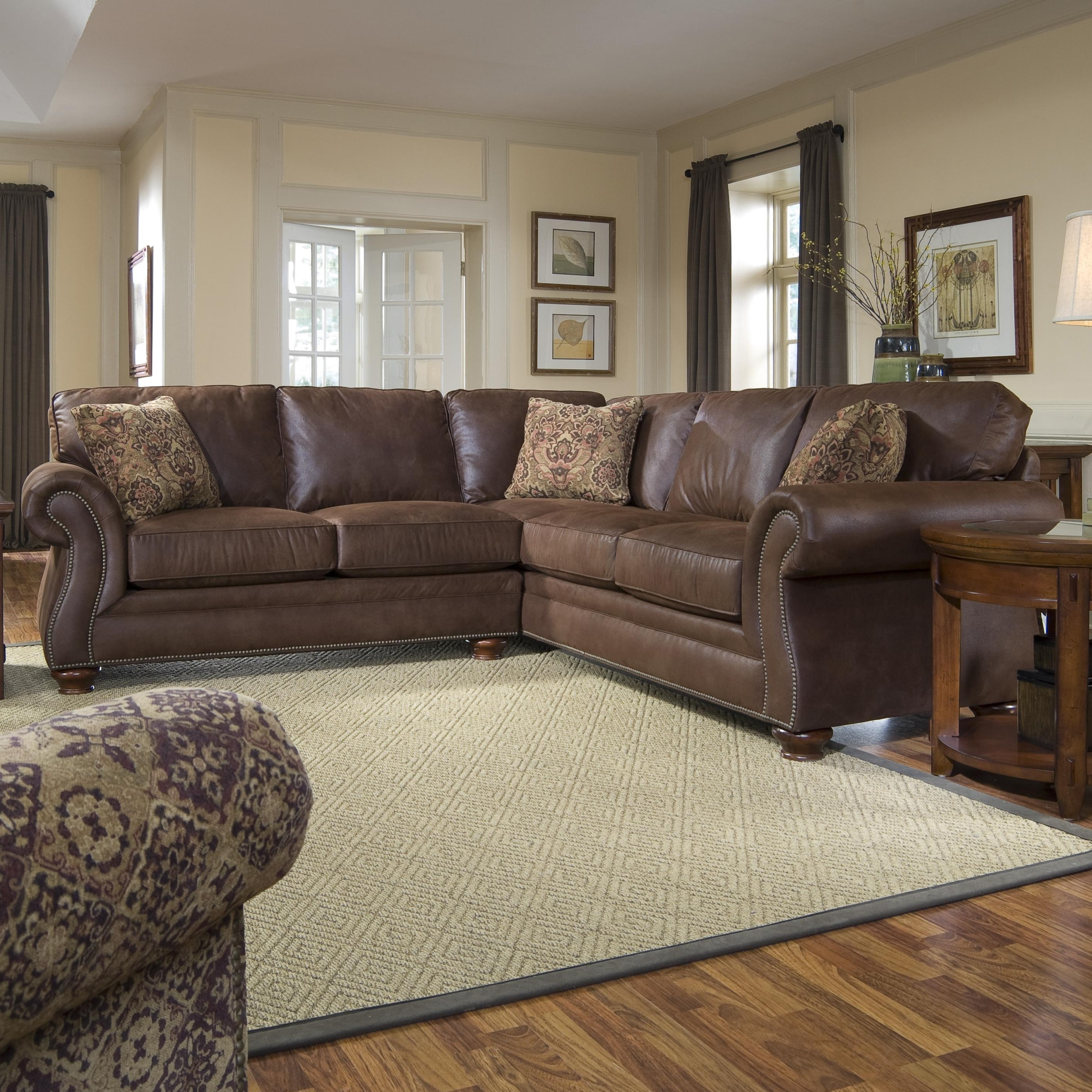 Popular Sectional Sofas At Broyhill With Broyhill Furniture Laramie 3 Piece Sectional Sofa (View 7 of 15)