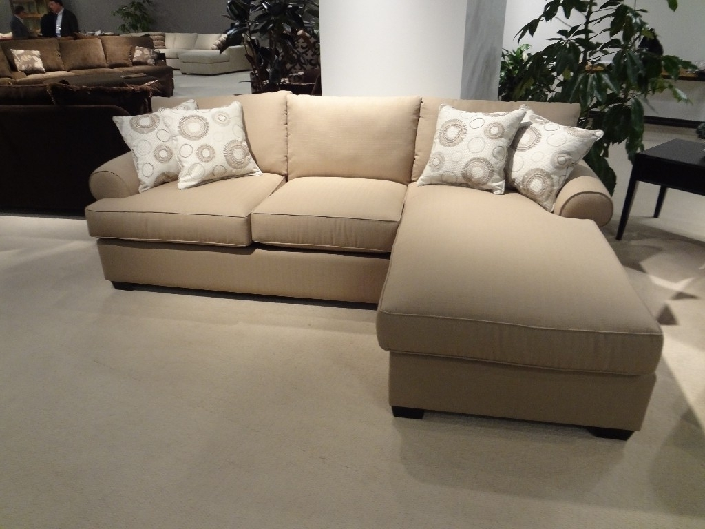 Popular Sectional Sofas That Turn Into Beds With Furniture : Beautiful Cream Sectional Sofa Bed Design With The (View 8 of 15)