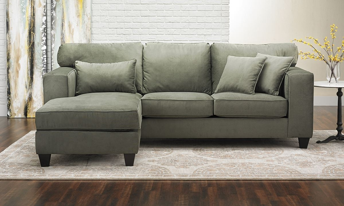 Popular Sectionals With Chaise With Regard To Sofa ~ Awesome Small Sectional Sofa With Chaise 8000 Rcsectt Small (View 6 of 15)