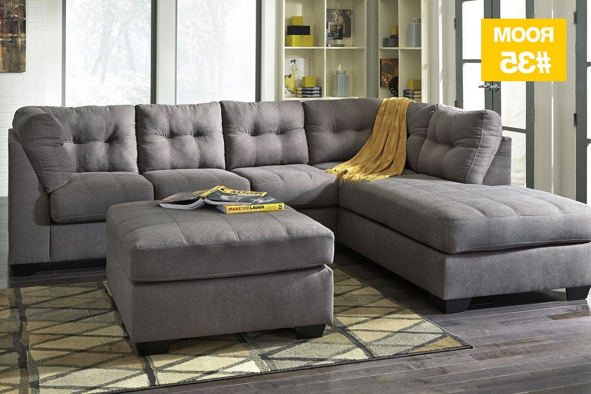 Popular Sectionals With Ottoman Regarding 35 – Malo Sectional + Ottoman At Gardner White (View 9 of 15)