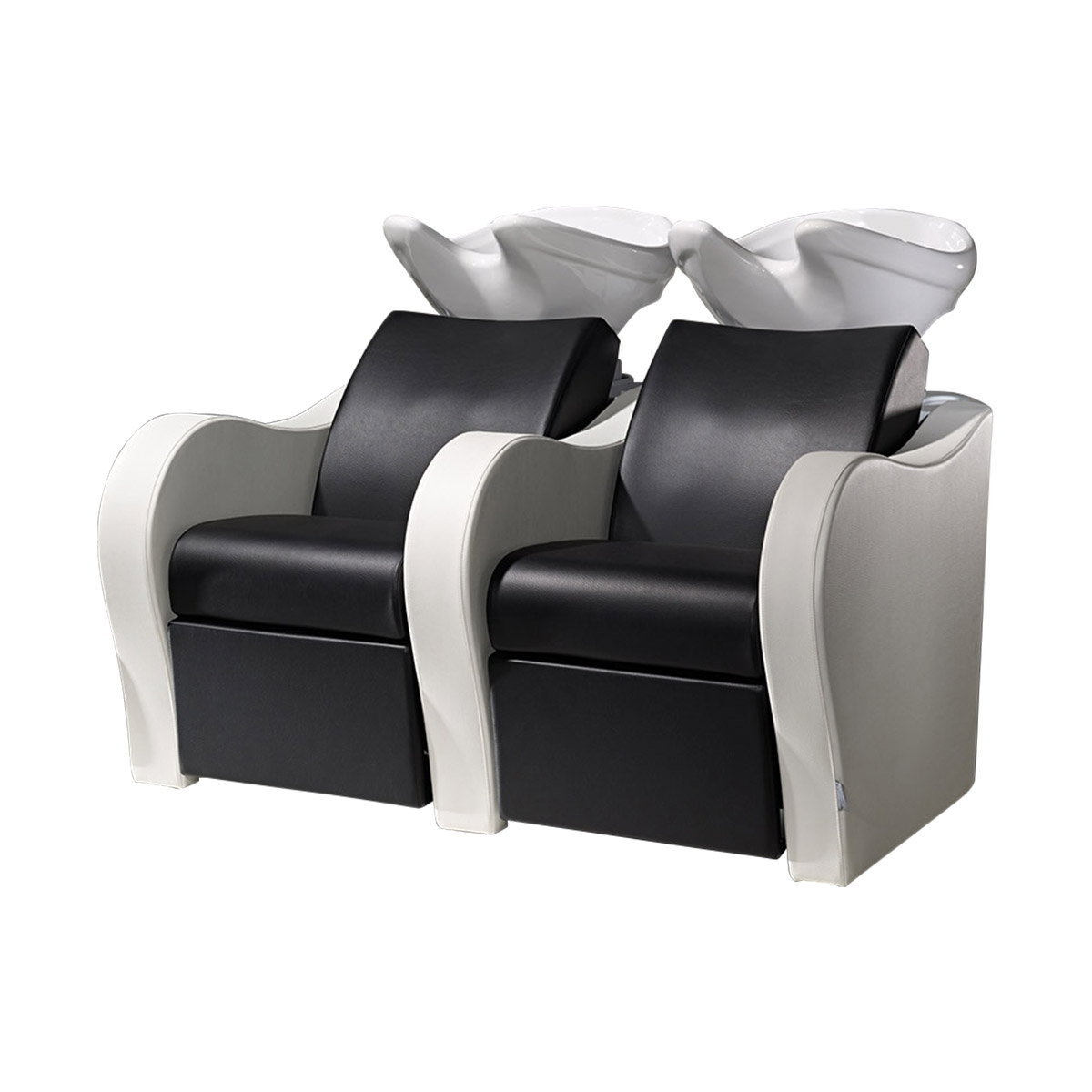 Popular Sofa Pedicure Chairs Regarding Salon Ambience Wu128 Luxury Sofa Salon Sink And 2 Chair Combo (View 10 of 15)