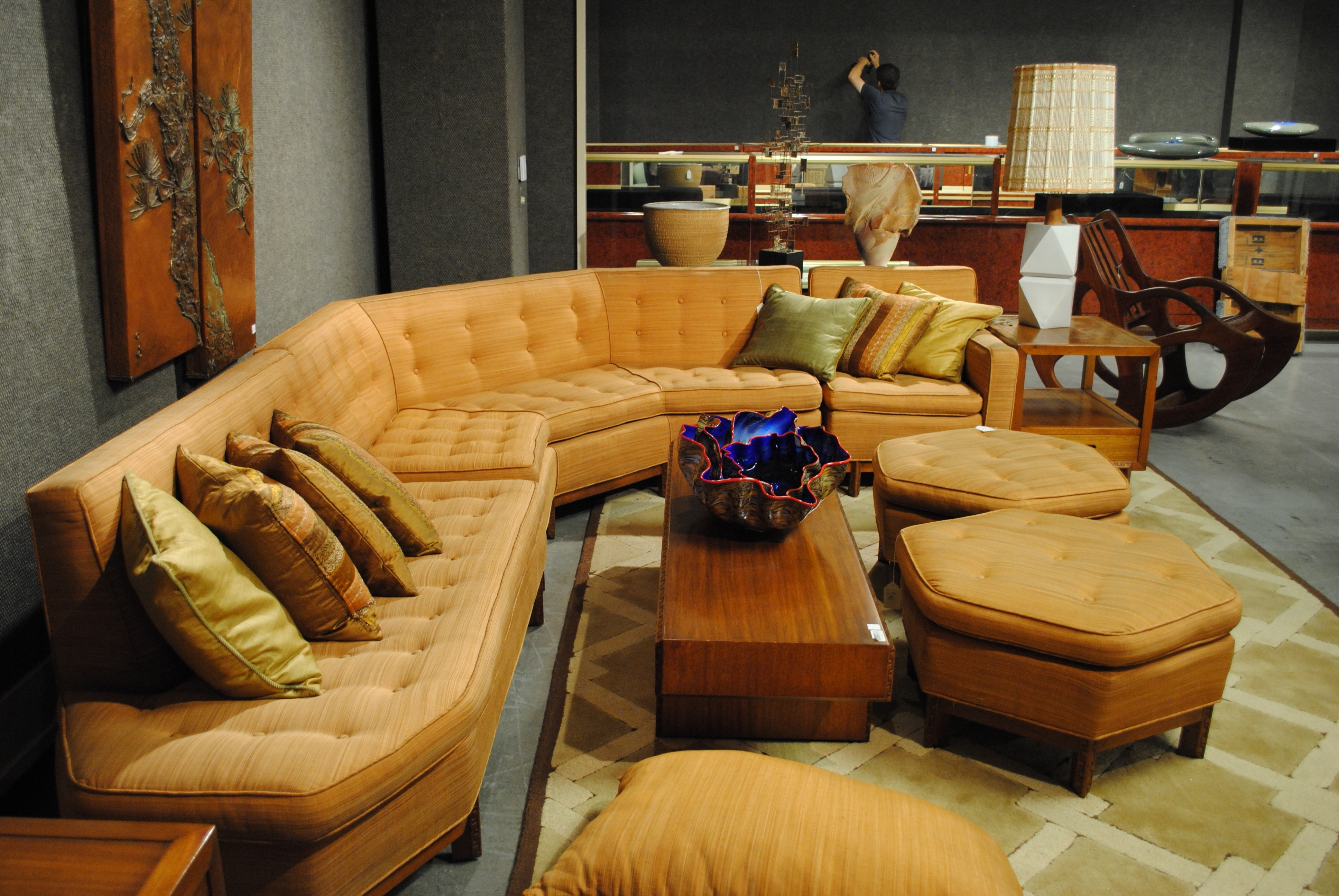 Popular Vintage Sectional Sofas With Vintage 1950S Sectional Sofa (View 9 of 15)