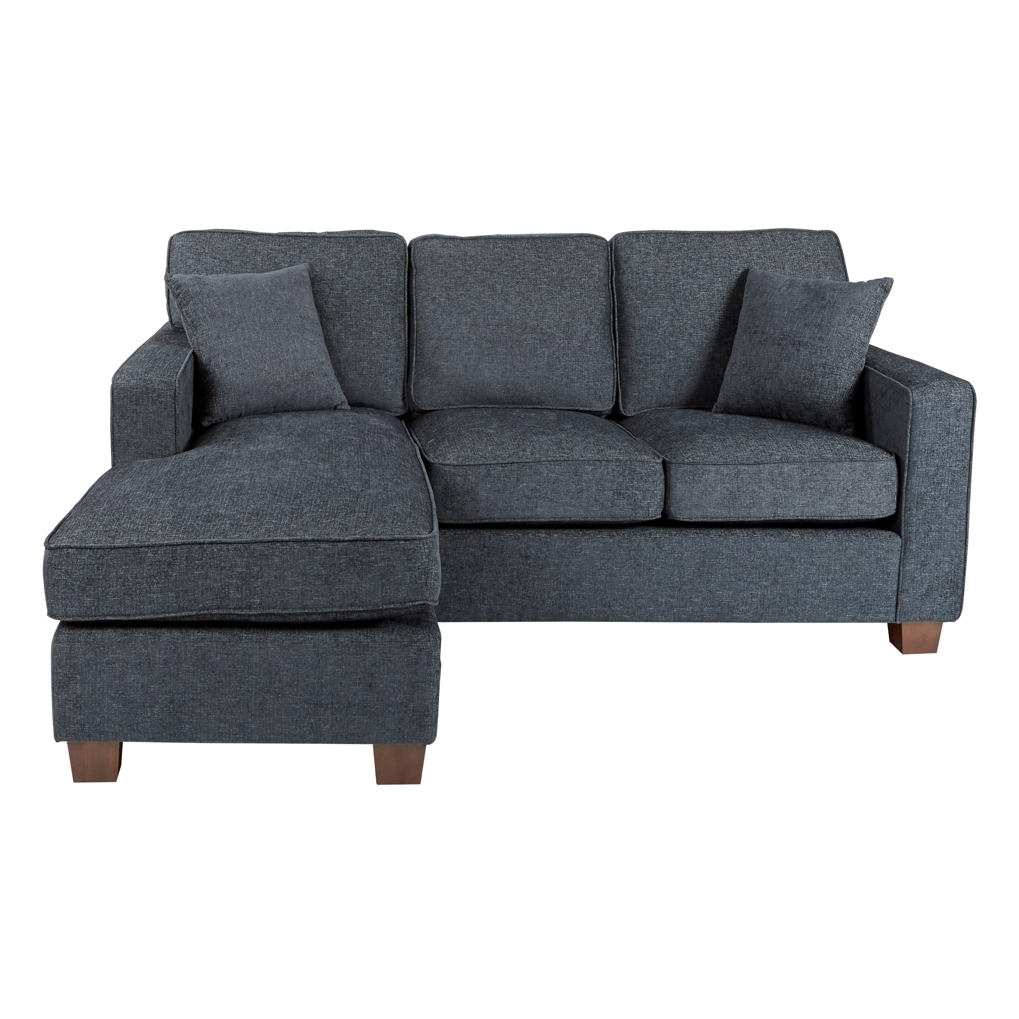 Porch & Den Over The Rhine Renner Reversible Chaise Sectional Sofa With Widely Used Overstock Chaises (View 7 of 15)