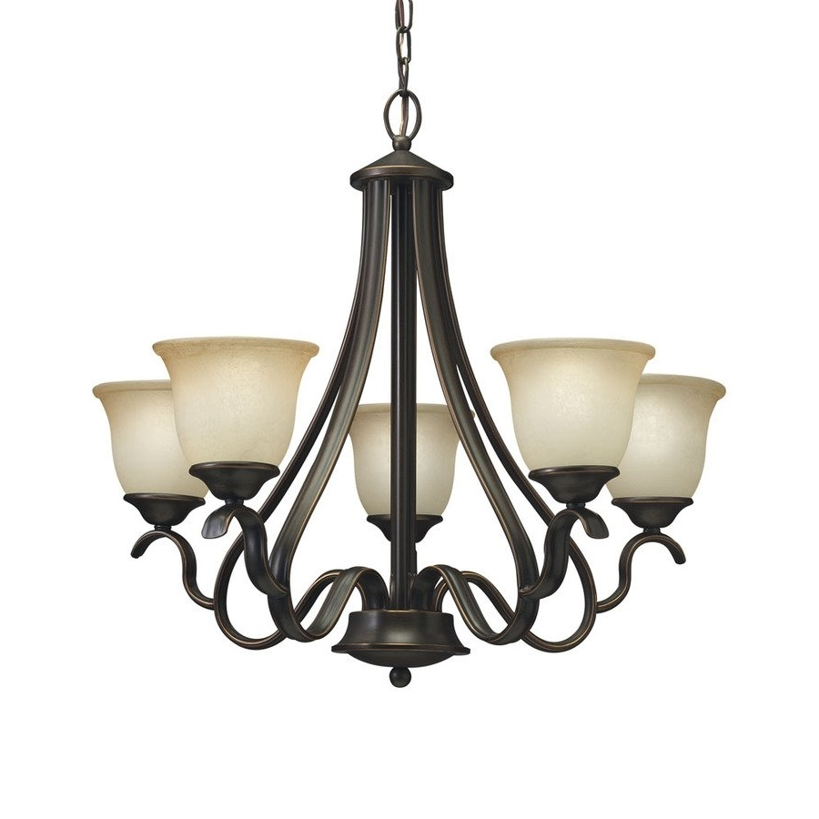 Portfolio 34348 5 Light Danrich Marina Black Bronze With Red Intended For Well Known Chandelier Lights (View 6 of 15)