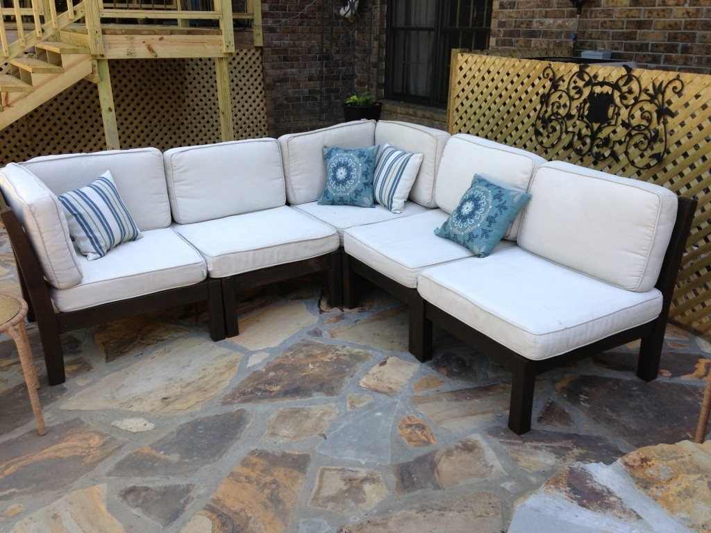 Pottery Barn Chaises Regarding Favorite How To Rehab An Outdoor Sectional (View 11 of 15)