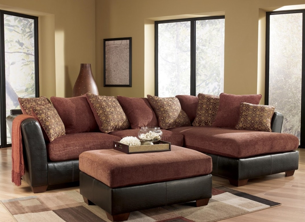 Pottery Barn Sectional Sofas With Best And Newest Crate And Barrel Fabric Sectional Pottery Barn Fabric Sectional (View 11 of 15)