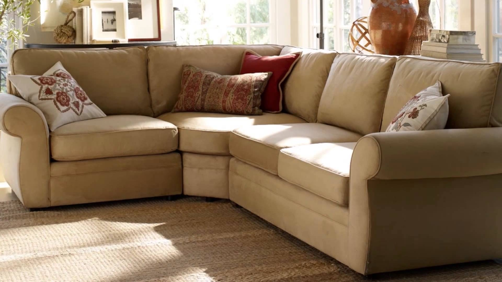 Pottery Barn – Youtube In 2017 Pottery Barn Sectional Sofas (View 5 of 15)
