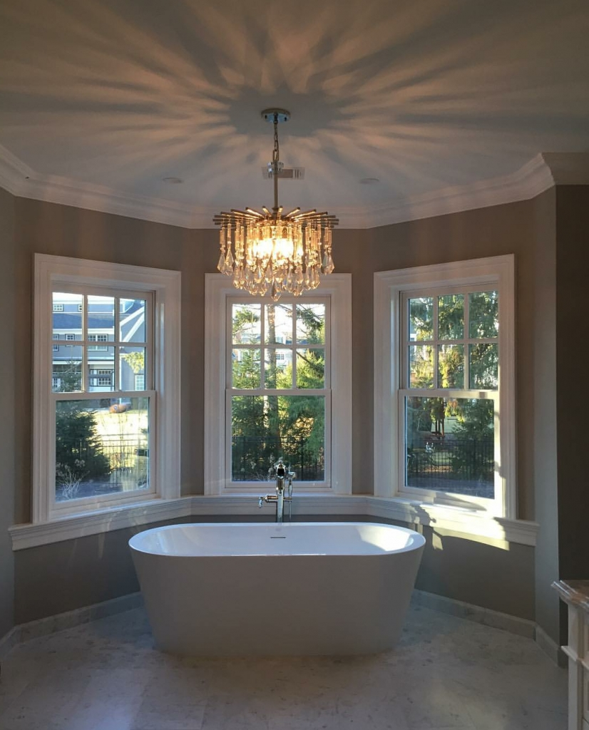 Preferred Bathroom Chandeliers Pertaining To On Trend: Bathroom Chandeliers – Hip New Jersey (View 13 of 15)