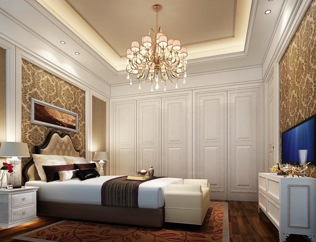 Preferred Bedroom Chandeliers Throughout 5 Reasons Why You Need To Hang A Chandelier In Every Room (View 13 of 15)
