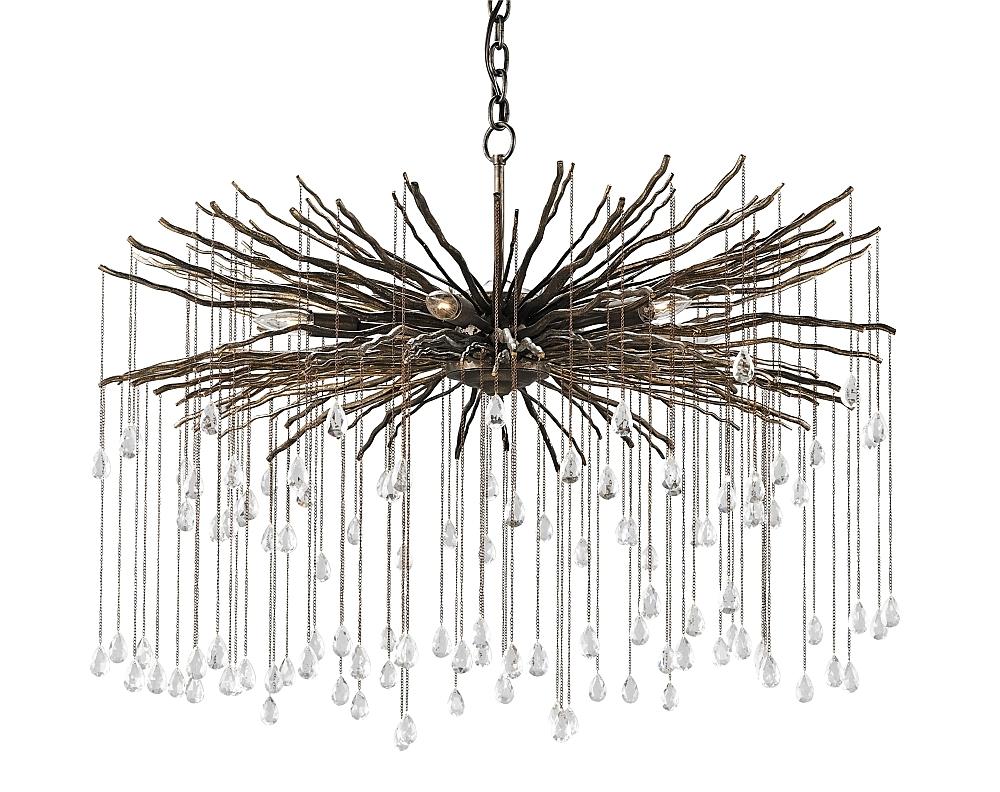 Preferred Branch Crystal Chandelier for Bronze Branch And Crystal Chandelier - The Designer Insider