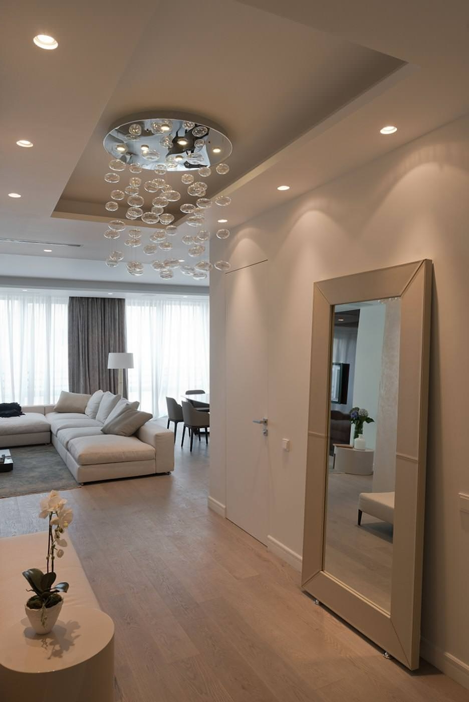 Preferred Chandeliers For Hallways With Regard To Modern Hallway Light Fixtures — Rustzine Home Decor : Best Light (View 6 of 15)