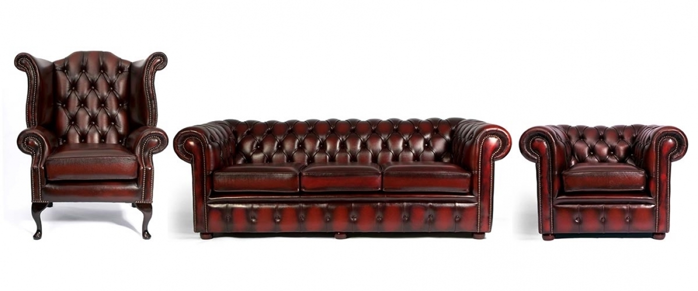 Preferred Chesterfield Sofas And Chairs Within Chesterfield Sofas And Chairs 64 With Chesterfield Sofas And (View 3 of 15)