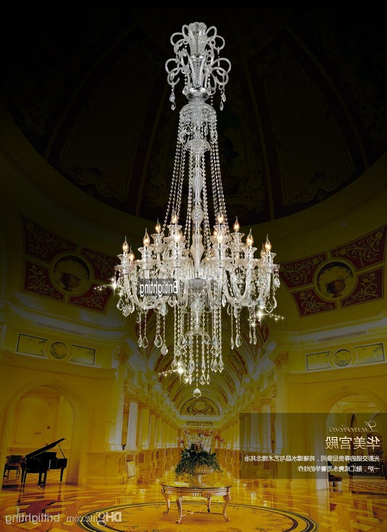 Preferred Chinese Chandeliers Large Kitchen Chandelier Crystal Pendants For Pertaining To Big Chandeliers (View 4 of 15)