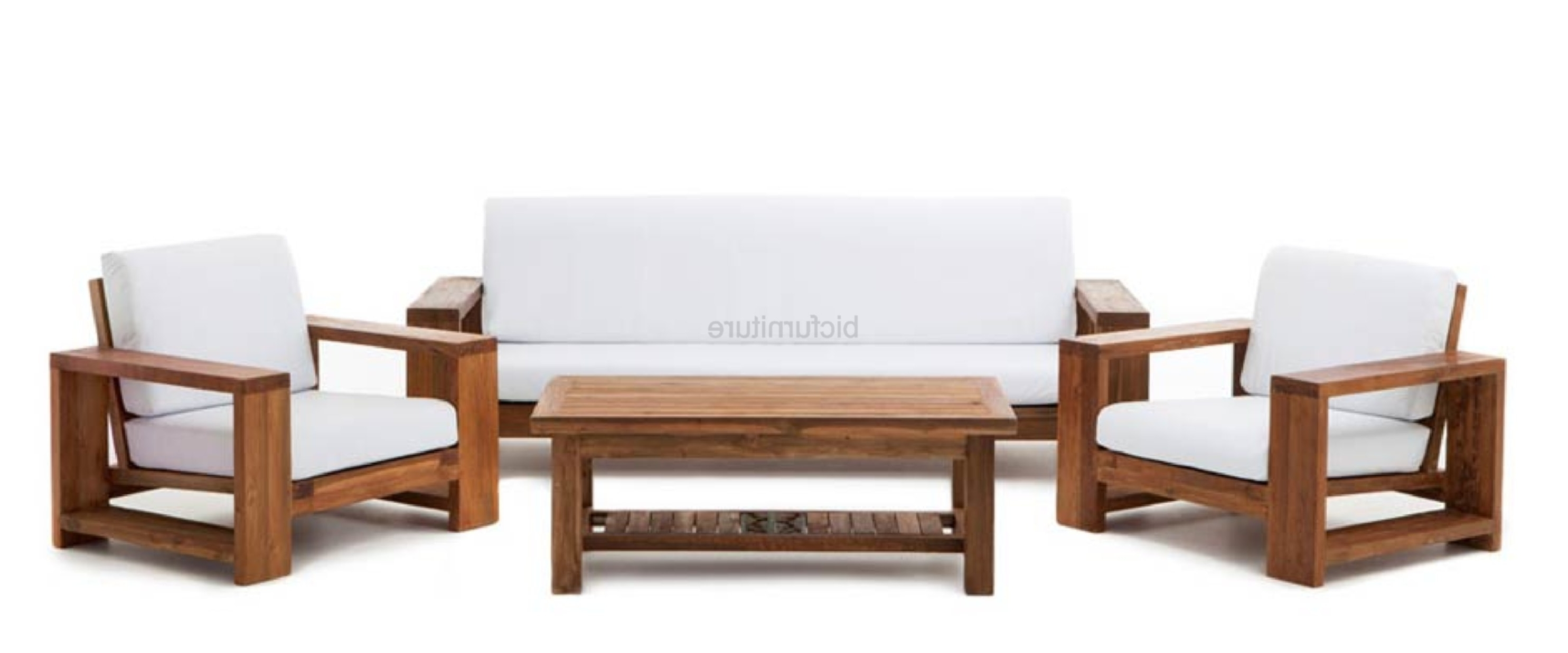 Preferred Comfortable Sofas And Chairs Within Teak Wood Furniture Designs Unique Teak Wood Sofa Set Designs (View 7 of 15)
