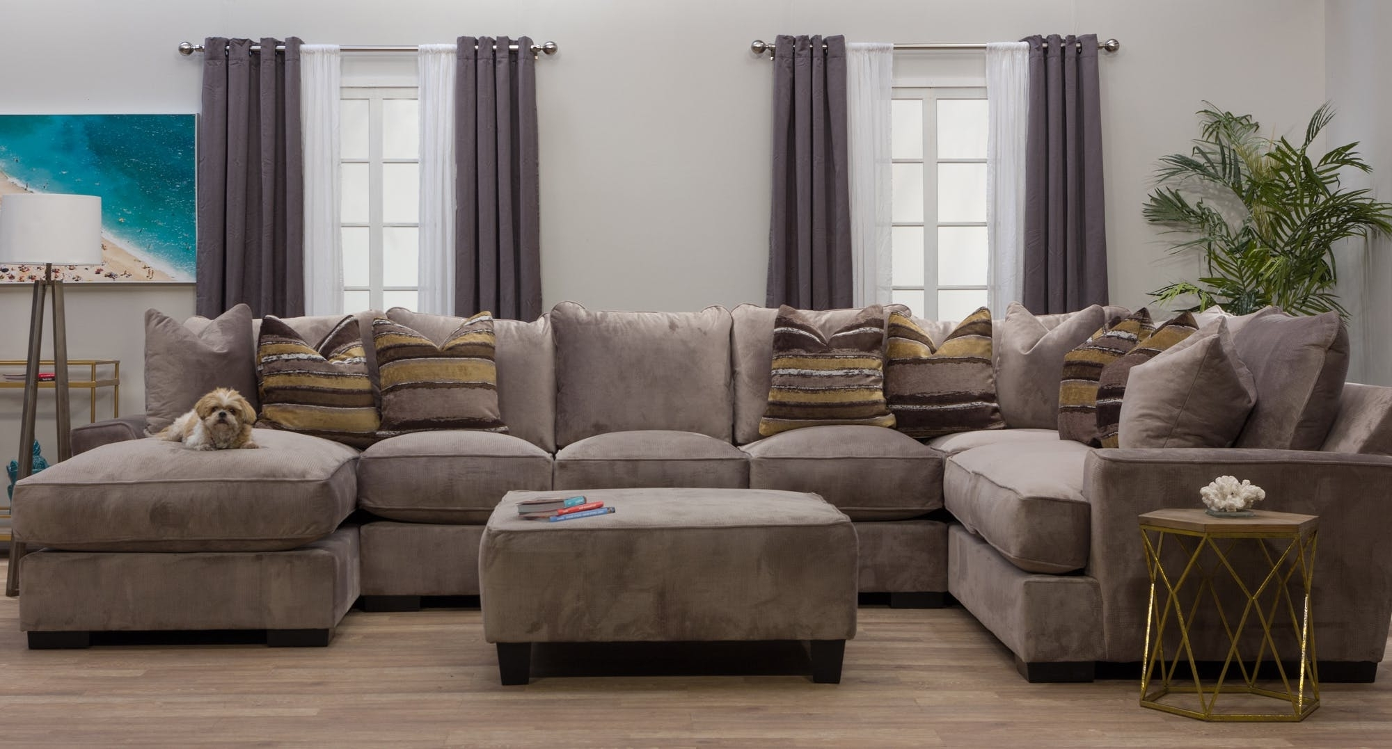 Preferred Dayton Ohio Sectional Sofas Intended For Michael Nicholas Designs Living Room Serendipity Right Chaise (View 12 of 15)