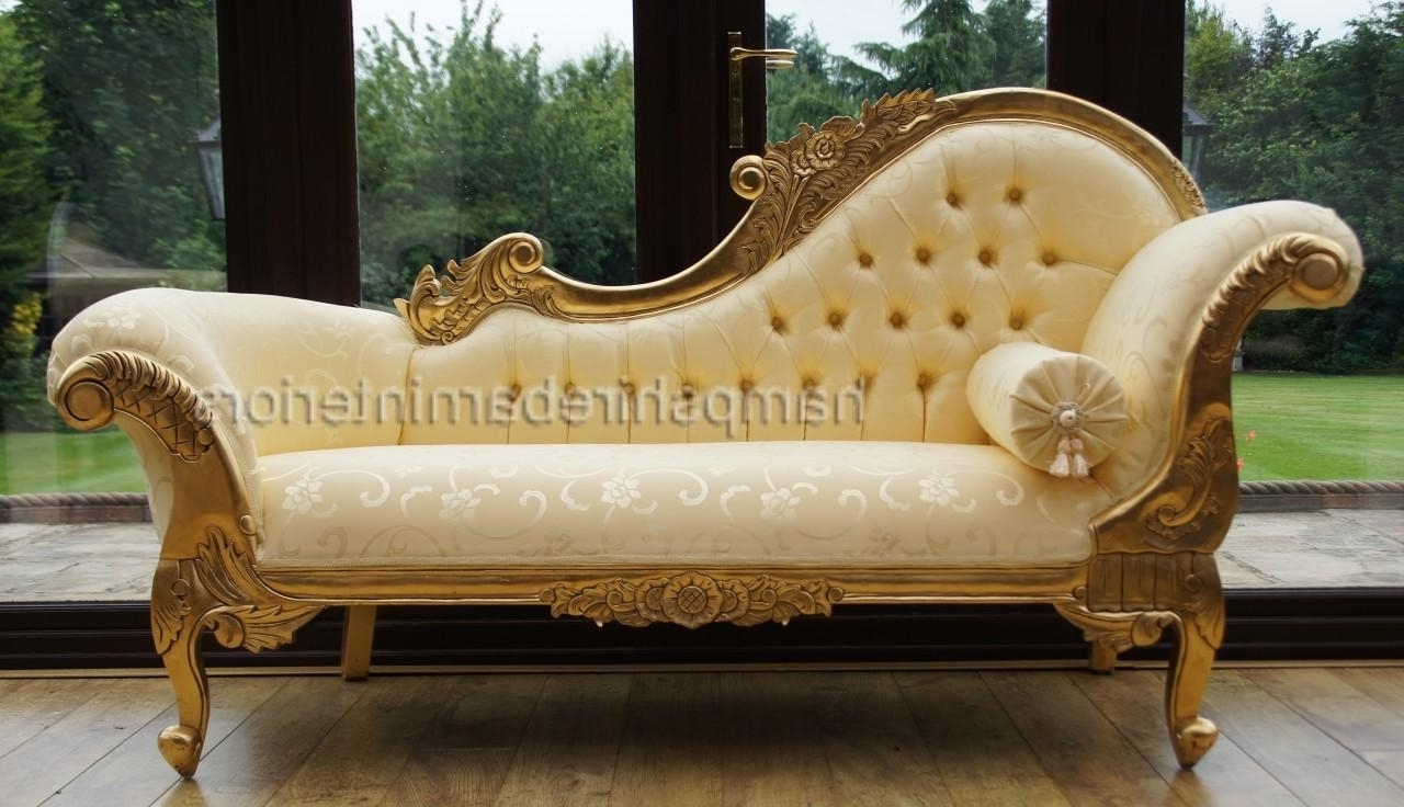 Preferred Decor Of French Chaise Lounge With 1000 Images About Chaise Inside Gold Chaise Lounges (View 13 of 15)