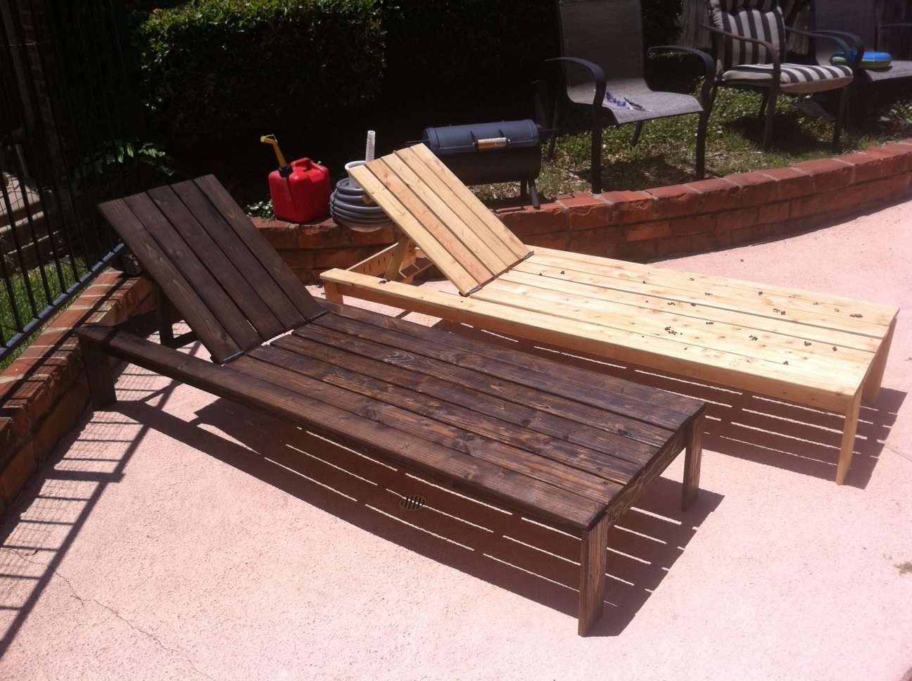 Preferred Diy Pool Chaise Lounge Chairs — Bed And Shower : Decorating Pool Intended For Diy Outdoor Chaise Lounge Chairs (View 12 of 15)