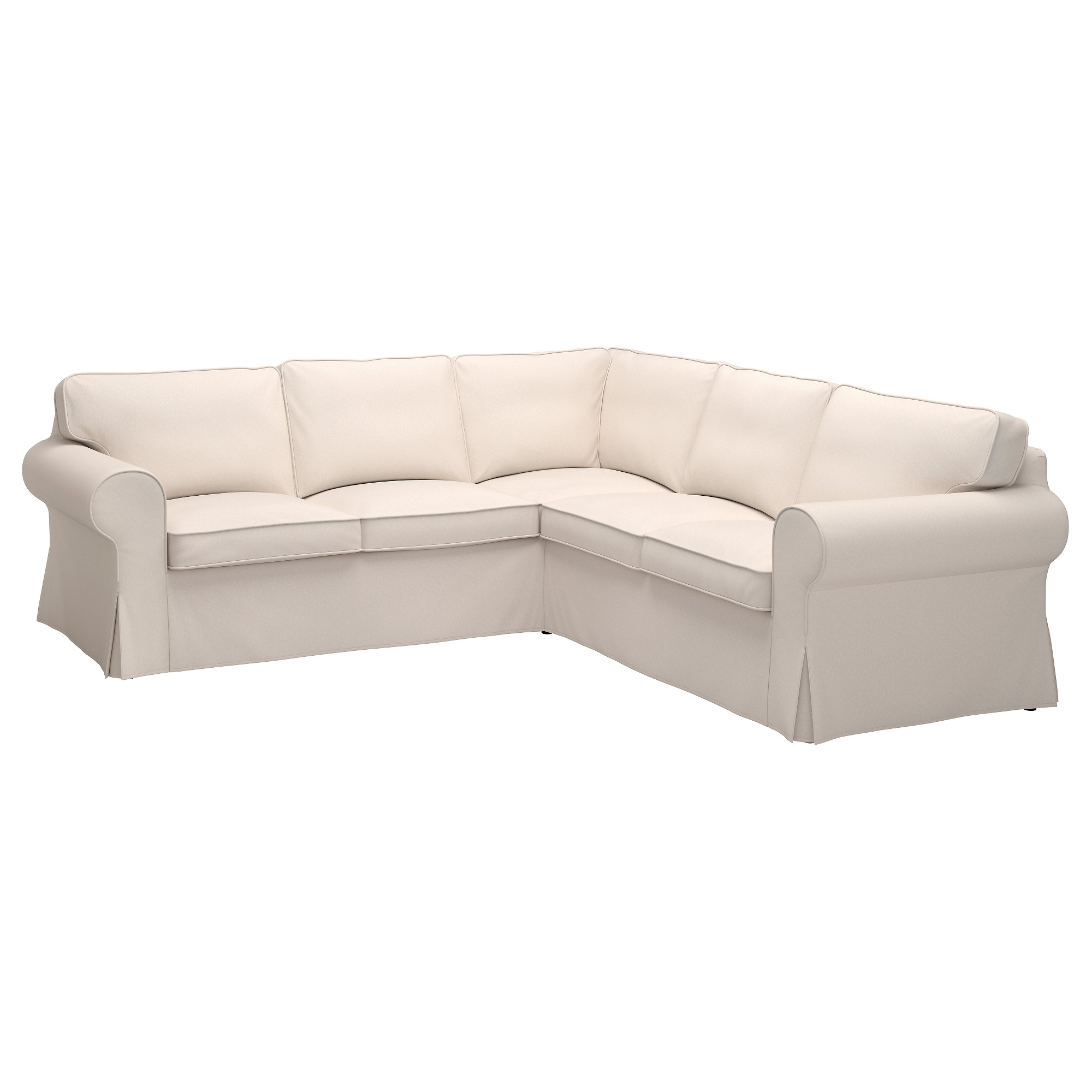 Preferred Ektorp Sectional, 4 Seat Corner – Nordvalla Dark Gray – Ikea Within Ikea Sectional Sofa Beds (View 12 of 15)
