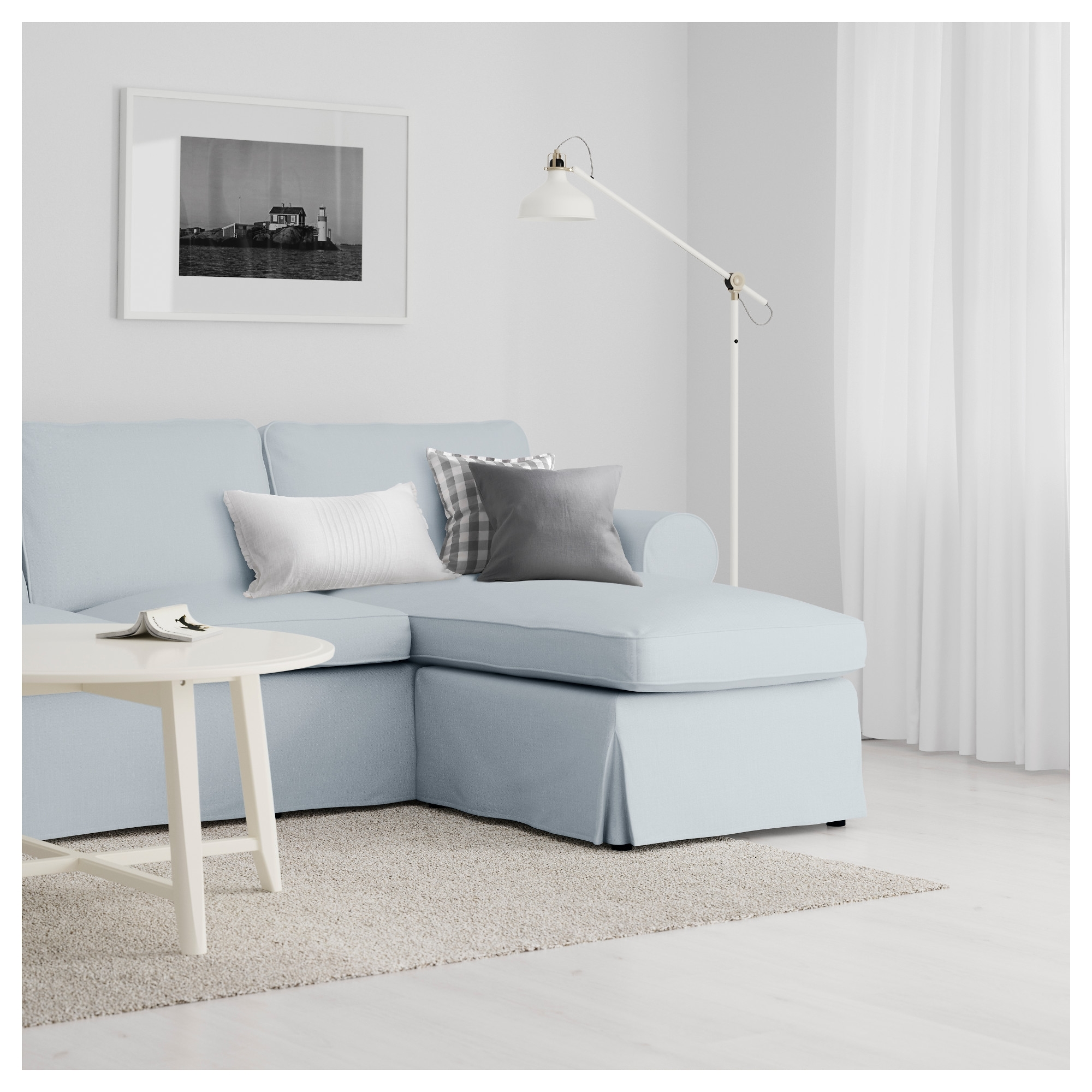 Preferred Ektorp Sofa – Nordvalla Dark Beige – Ikea With Regard To Ektorp Chaises (View 7 of 15)