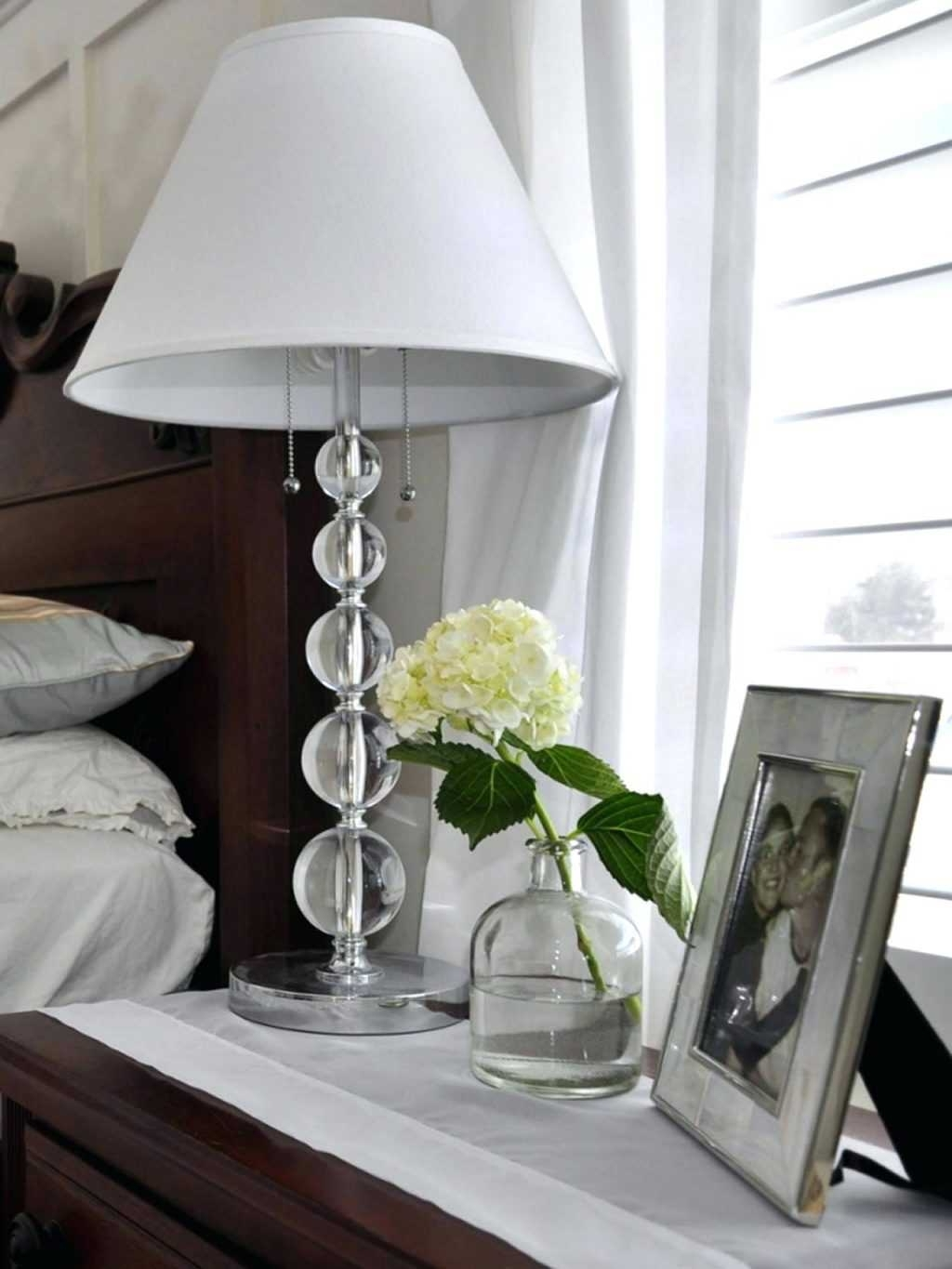 Preferred End Table Lamps For Bedroom Pictures Nightstand Exquisite Reading Within Chandelier Night Stand Lamps (View 1 of 15)