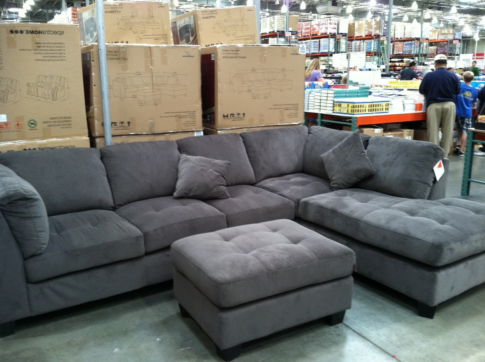 Preferred Epic Gray Sectional Sofa Costco 21 For Sofa Table Ideas With Gray Regarding Sectional Sofas At Costco (View 8 of 15)