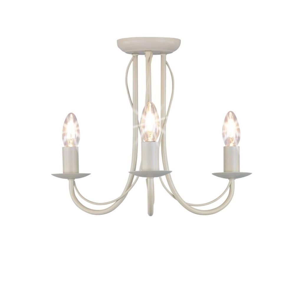 Preferred Fabulous Chandelier Ceiling Lamp Wilko 3 Arm Chandelier Metal Intended For Cream Chandelier (View 14 of 15)